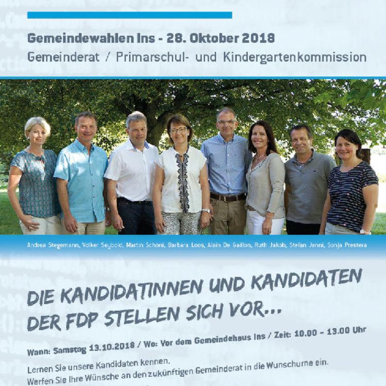» Rückblick Veranstaltung FDP - SVP 13.10.2018